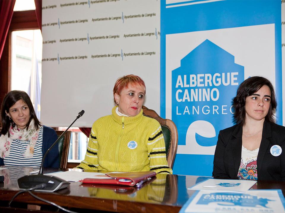 Presentación Albergue Canino Langreo