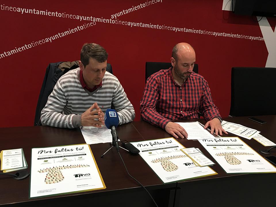 Presentación Campaña Empadronamiento Ayuntamiento de Tineo