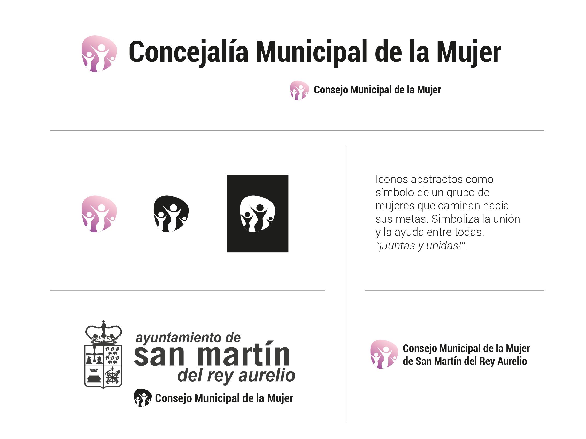 Imagen Corporativa Consejo Municipal de la Mujer SMRA