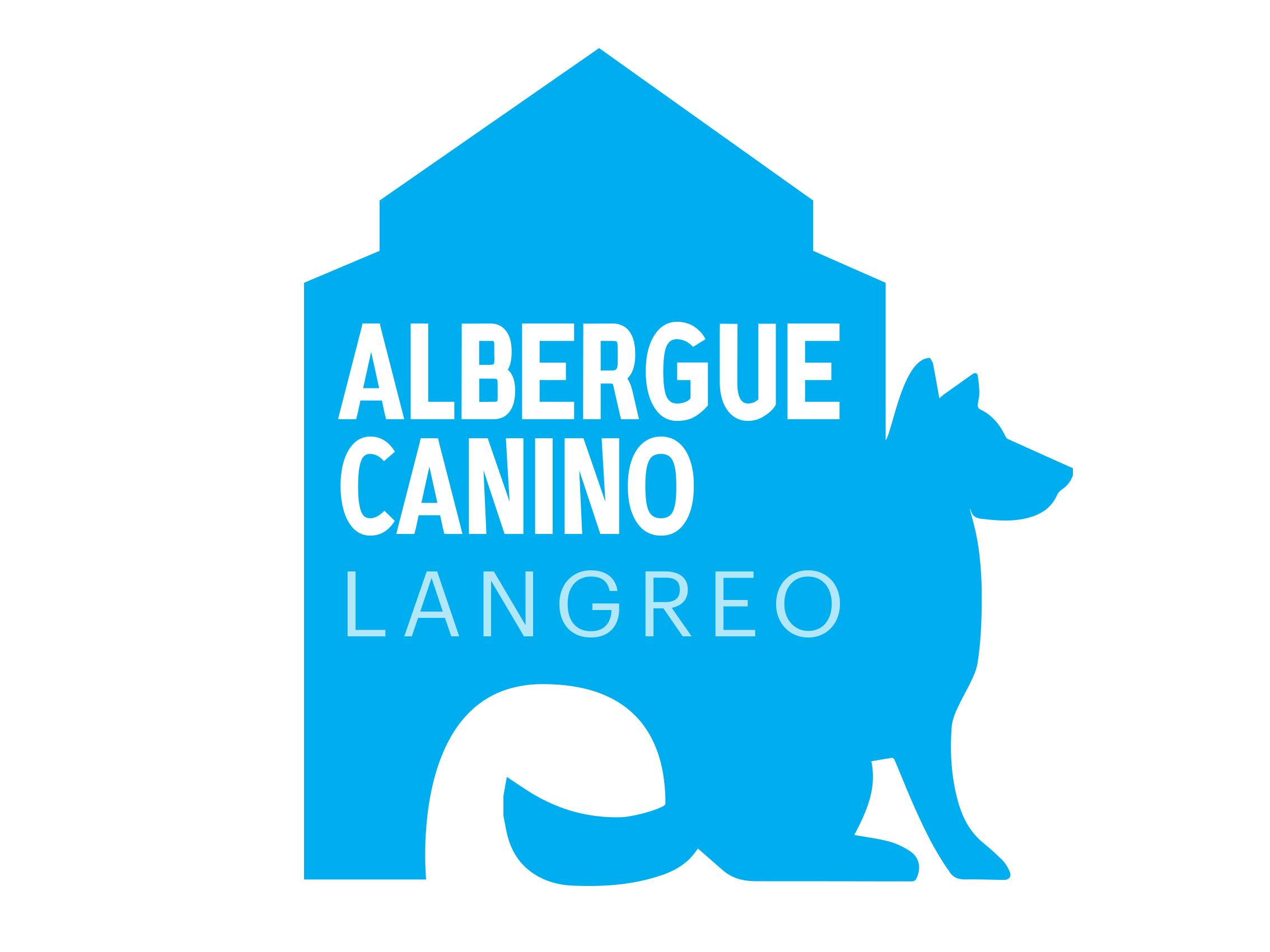 Imagotipo Albergue Canino Langreo