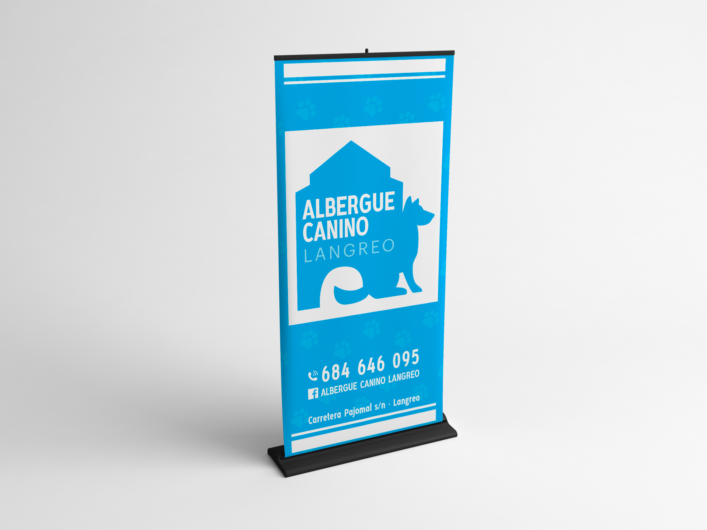 Rollup Albergue Canino Langreo