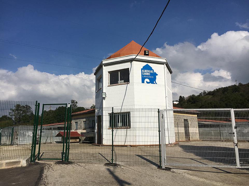 Instalaciones Albergue Canino Langreo