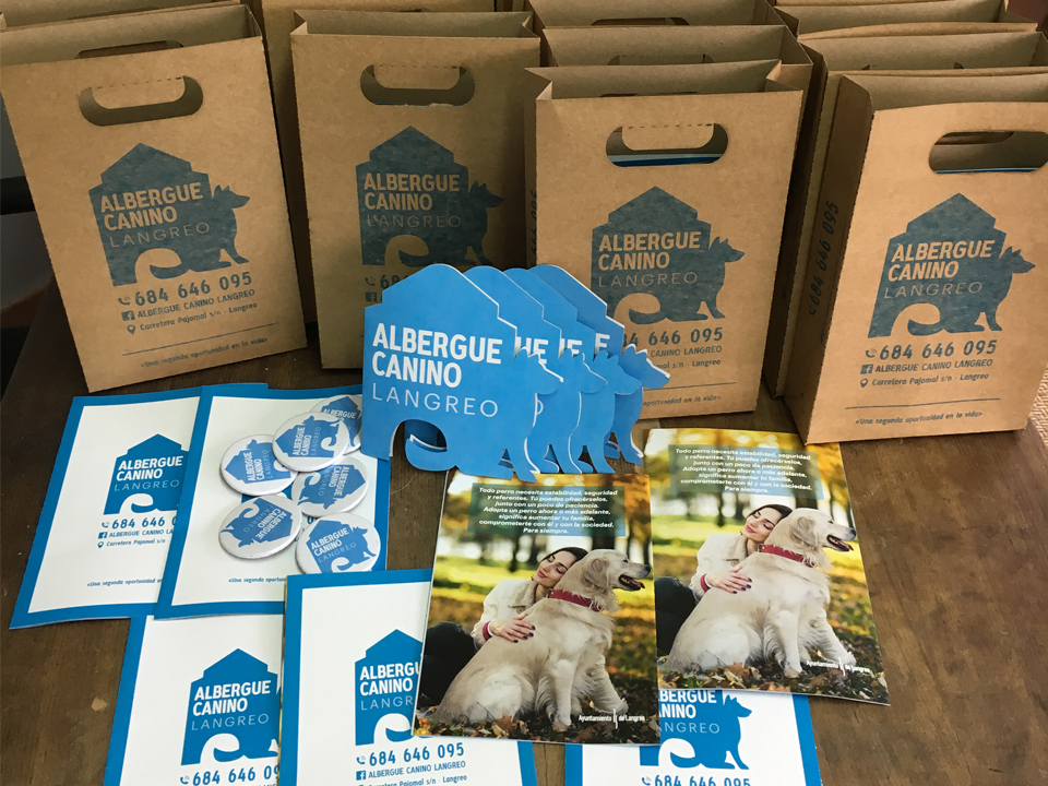 Packaging Albergue Canino Langreo