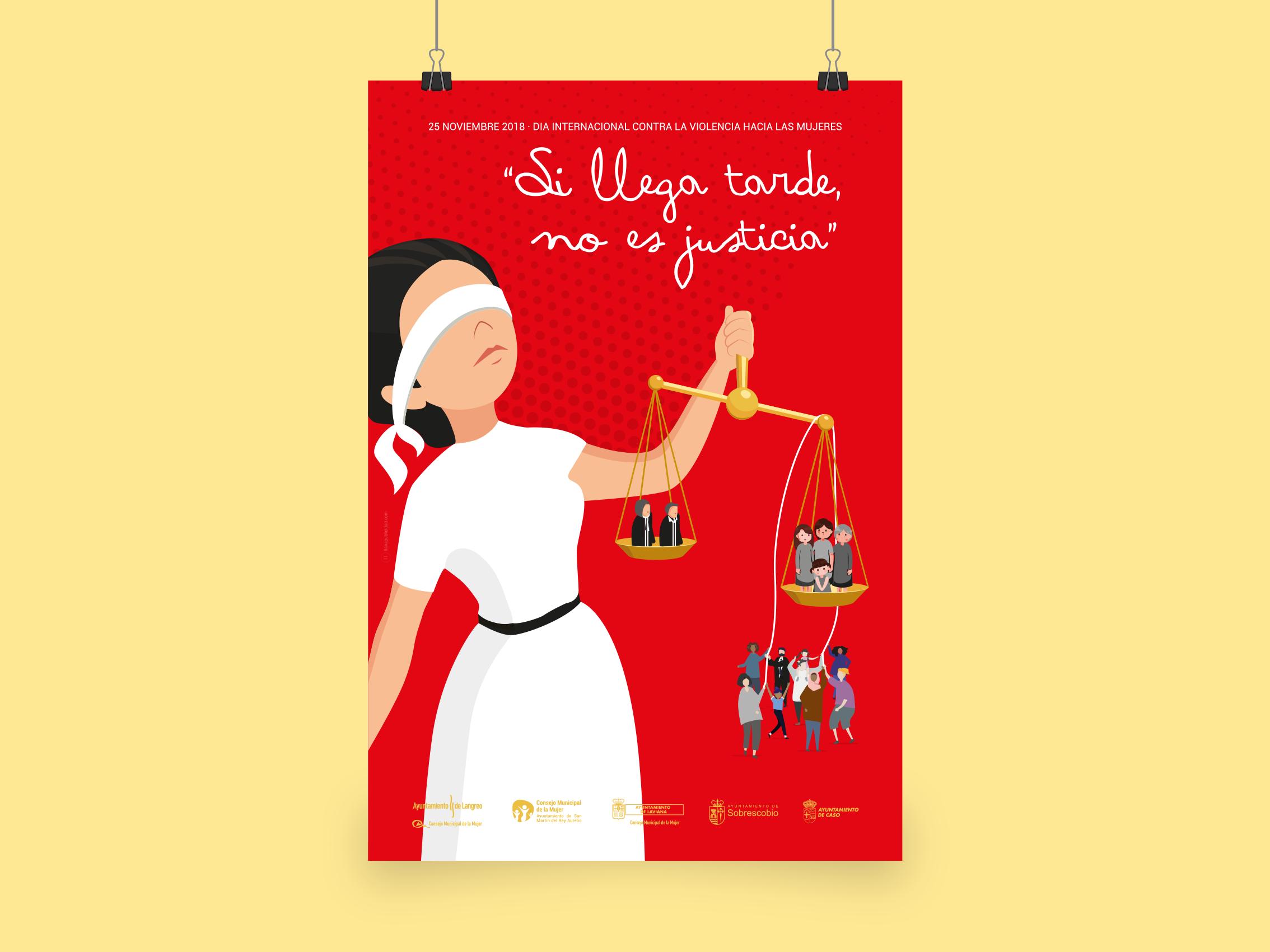 Cartel 25N Dia Internacional contra la Violencia de Género