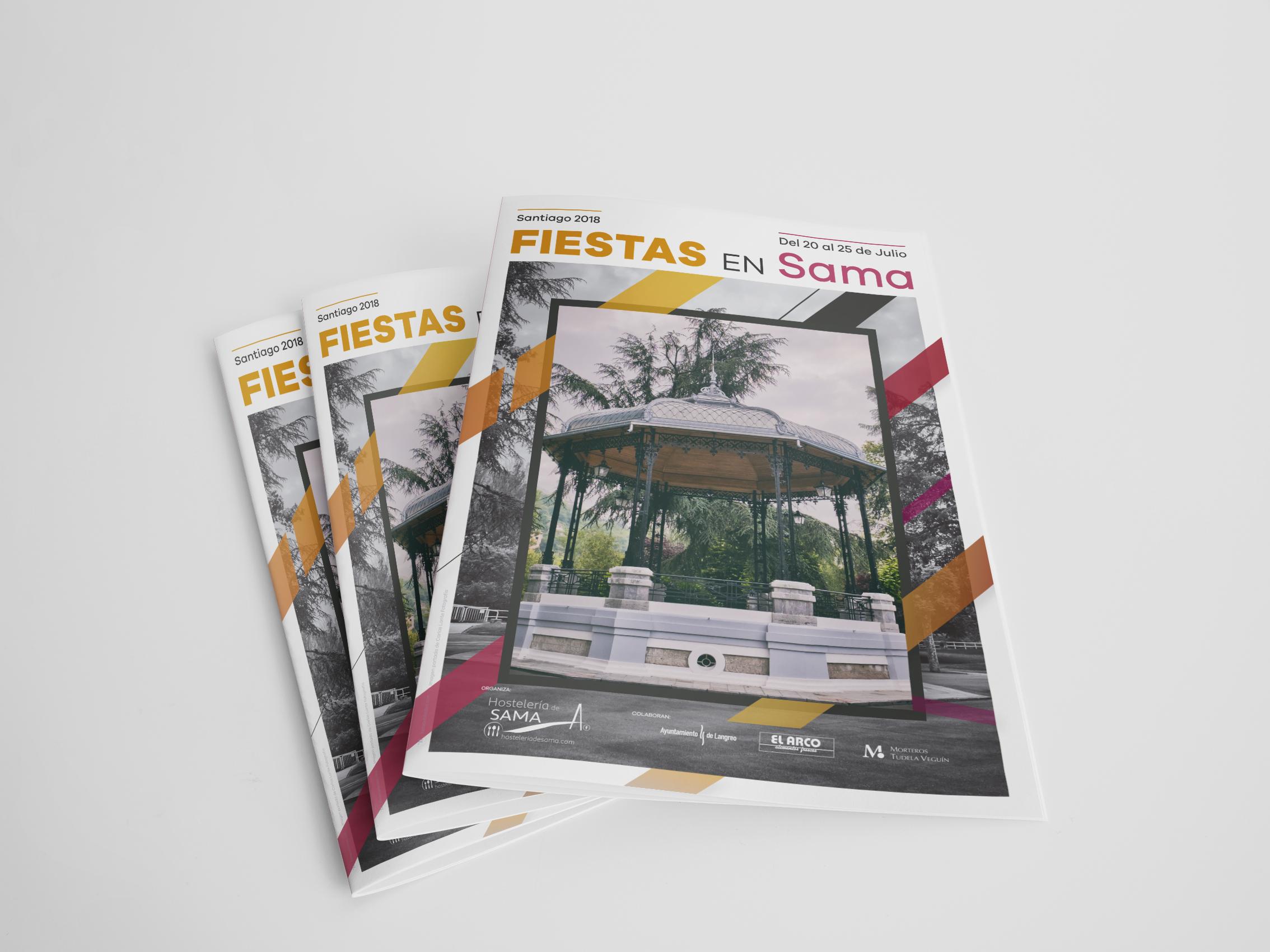 Programa de Fiestas Santiago de Sama 2018