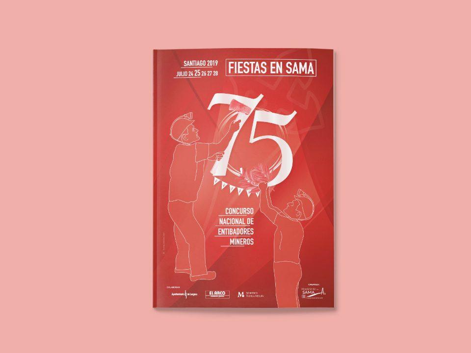 75 aniversario entibadores Sama de Langreo 2019