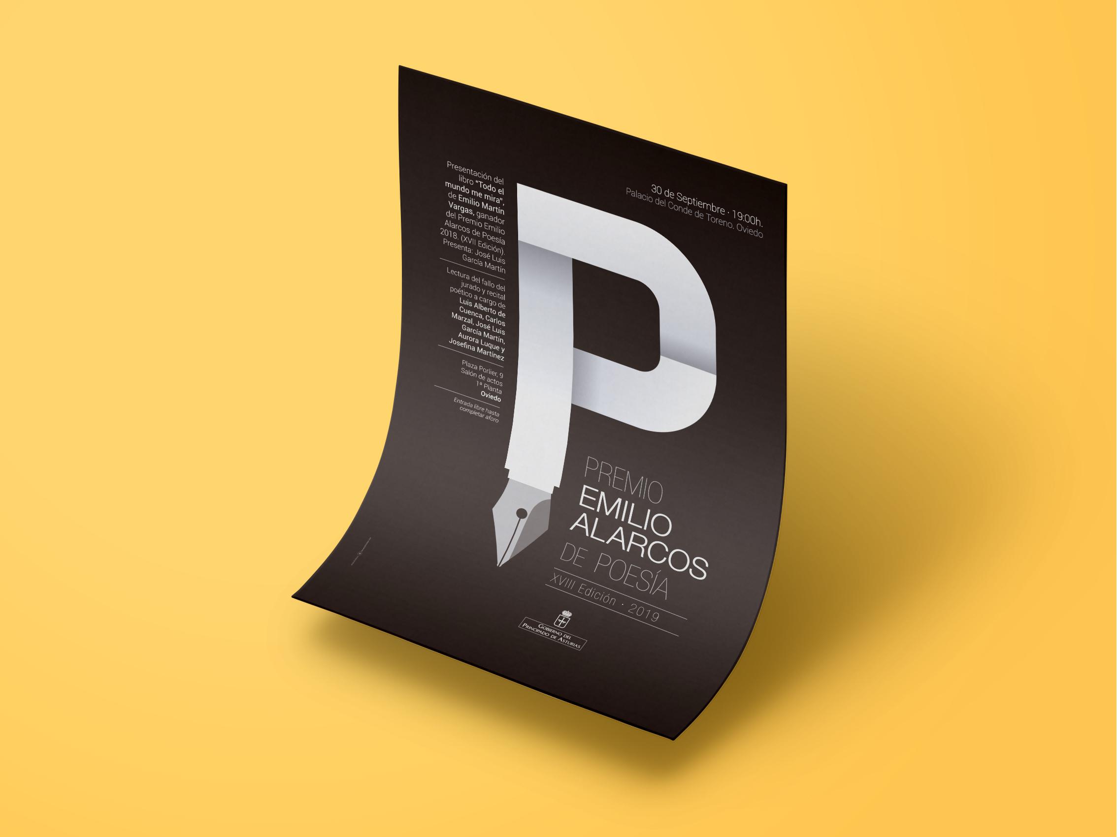 Premio Emilio Alarcos Llorach cartel