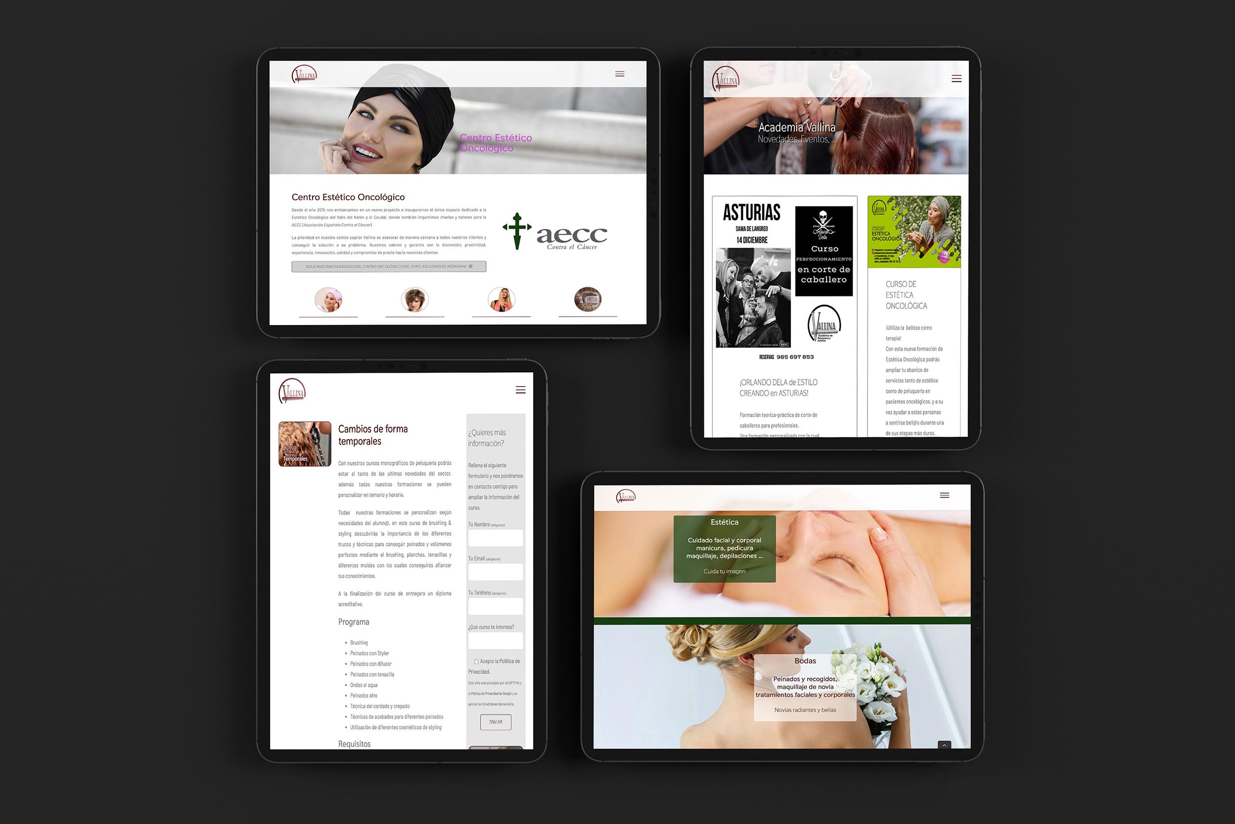 Diseño de páginas web en Langreo