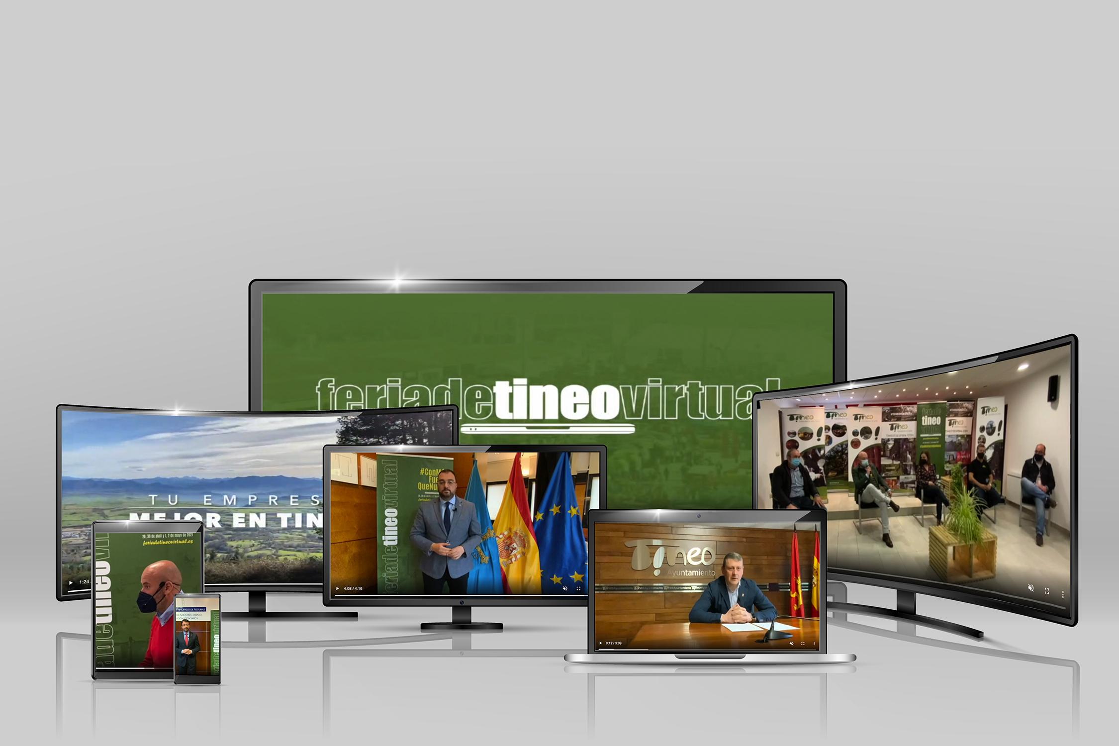 Vector different screens – notebook, smartphone, TV.